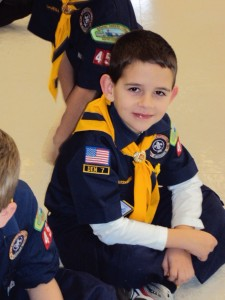 Cub Scout Riley