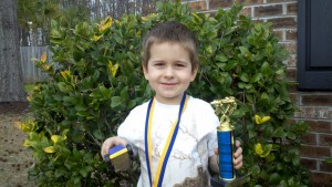 JJ and his trophy loot