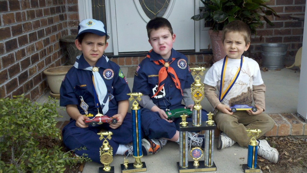 Pinewood Derby Winnners
