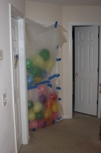 Birthday Door Balloons