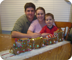 2006 Gingerbread Train