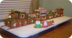 2007 Gingerbread Train