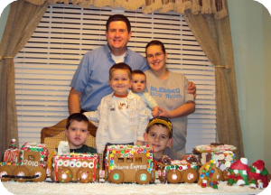 Gingerbread Train Daddy Life