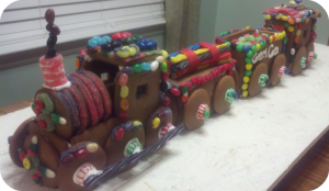 2011 Gingerbread Train