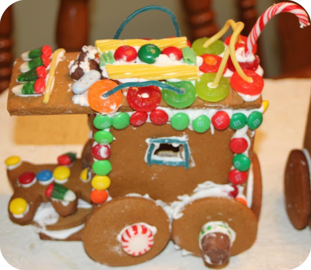 Gingerbreat Train Caboose