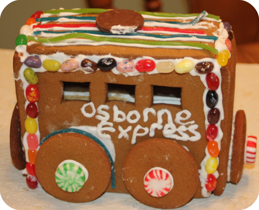 Gingerbread Train passenger car