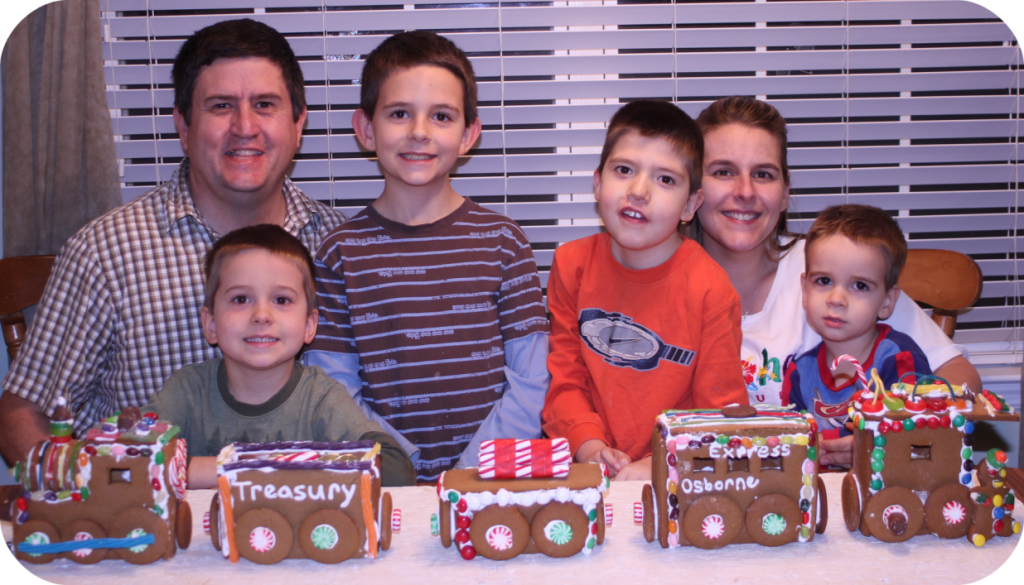 2012 Osborne Family Gingerbread Train