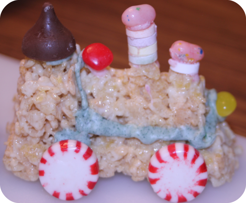 JJ Rice Crispy Train Engine